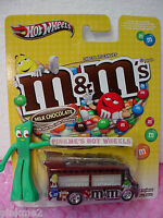 2013 POP CULTURE Hot Wheels☆SMOKIN' GRILLE☆ Mars M&M's Chocolate ☆Real Riders☆