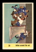 1958 Parkhurst #39 Jacques Plante/ Others IA EX X1497088