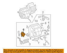 TOYOTA OEM 07-10 Sienna 3.5L-V6 Evaporator-Mode Motor 8710608050
