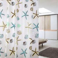 200*180 cm Duschvorhang Vorhang Anti Schimmel Seestern Conch Badezimmer Zubehör