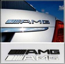 AMG NEW Emblem Logo Schriftzug Badge B E C SL CLS S CL A SLK CLA Aufkleber decal