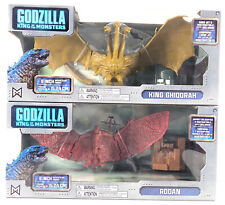 "King Ghidorah + Rodan 6"" Figure Jakks Pacific 2019 Godzilla Movie Monster"