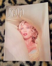"""Madonna """"icon"""" official fan club magazine no 38 From 2002 Very Rare Queen Of Pop"""
