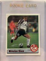 Panini Rookie Miroslav Klose Kaiserslautern Deutschland Fussball 2002 #X
