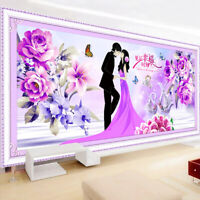 50*120cm Lover Full Drill 5D Diamond Painting Cross Stitch Kits Embroidery DIY