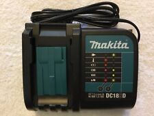 New Makita DC18SD 7.2V - 18V LXT Lithium Ion / Ni-MH Battery Charger