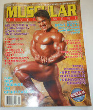 Muscular Development Magazine Lenda Murray & Chains For Gains March 1991 112114R