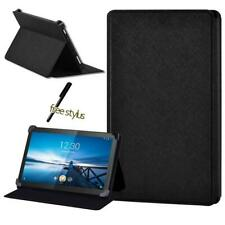 For Lenovo Smart Tab M8/Tab M10 Folio Leather Tablet Stand Protective Cover Case
