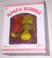 "The Simpsons - Homer Buddha Collectible Vinyl Art 3"" Figure - Kidrobot In Stock"
