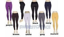 women fleece lined footless thermal leggings,soft&warm&stretchy,S,M,L,XL,2XL,NEW
