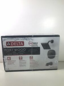 Delta Portwood 1 Handle Tub & Shower Faucet Kit Venetian Bronze 144770-RB