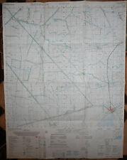 6127 iv - MAP - Rare - VINH LOI - BAC LIEU - Vietnam War - USSF BASE - PHU LOC