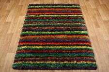 Polyester Striped Machine Made Rugs