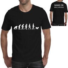 evolution eurasier walker T-Shirt Dog Owner.