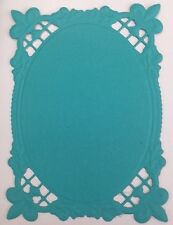 • • • Die Cuts - Embossed MATS #8...x7 - Mixed Colours - Stampin Up C/S - Cards