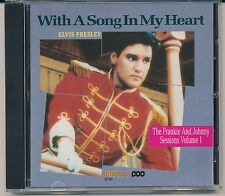 WITH A SONG IN MY HEART - CD -  ELVIS PRESLEY- IMPORT CD - OUTTAKES FROM MOVIE