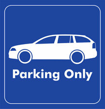 Parking only-skoda Octavia RS 1z combi-adhesivo
