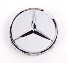 Mercedes 75mm Wheel Badge Emblem Logo Centre Cap x1