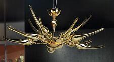 Lampadario contemporaneo design moderno e vetro oro coll. BELL ego 1805/L100