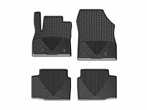 WeatherTech All-Weather Floor Mats for Chevy Cruze 2016-2019 1st 2nd Row Black