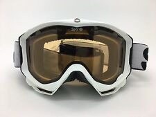 SPY+ Optic Omega Snow Goggle 311016396185 Matte White Frame Persimmon Lens - AFP