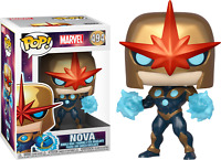Exclusive Metallic Nova Marvel Funko Pop Vinyl New in Box
