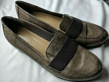Naturalizer N5 Comfort 'Ashlyn' Woman's Flats Size 8 WW Brown Leather Loafers