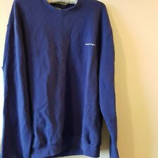 Balenciaga Paris cobalt blue sweatshirt size S