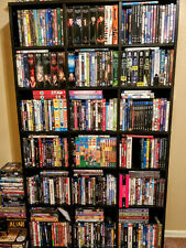 Giant Lot of Used DVDs - BUY 3 or more and SAVE 20%! Free Shipping!