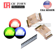 100PCS SMD SMT 0603 (1616) RGB Red Green Blue Light Common Anode LED Diodes USA