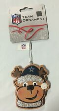 Dallas Cowboys Gingerbread REINDEER Christmas Tree Holiday Ornament NEW