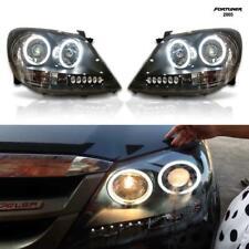 For 2005+Toyota Fortuner Head Lamp Projector Led Black Light Before Facelift Ggn