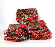 NEW! Lot of 36 X Estee Lauder Flower Butterfly Cheetah Print Cosmetic Makeup Bag
