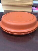 Vintage Tupperware Bowl And Lid #1336-11 Orange