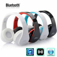 Foldable Wireless Bluetooth Stereo Headset Headphones Mic Universal US Stock UP
