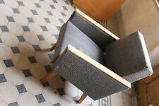 Grey Mid Century modern Danish Style Armchair functionalist 1960's-70's