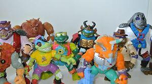 TMNT Teenage Mutant Ninja Turtles Action force Figures Bebop April O'Neil
