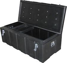 260lt B'ute Box - Tough Poly Toolbox 570mmW x 1170mmL x 400mmH - Black - NEW