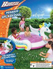 Banzai Pegasus Inflatable Swimming Kiddie Splash Pool
