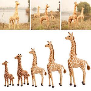 100CM Plush Giraffe Doll Giant Large Stuffed Animals Soft Kids Toy Cute Toy