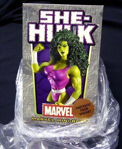 She Hulk FF4 Variant Bust Statue 2005 Fantastic Four Bowen Marvel Amricons