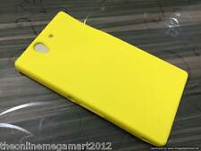 Yellow Soft Silicone back Case,Cover,for Sony Xperia Z L36H
