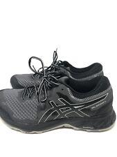 ASICS Mens Gel-Sonoma 4 Size 8.5 Black/Stone Grey Hiking Shoes EUC