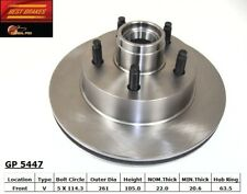 Disc Brake Rotor-RWD Front Best Brake GP5447