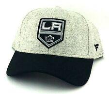 Los Angeles Kings New '47 Brand Fanatics Gray Heather Melton Black Era Hat Cap