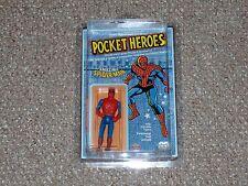 1979 Mego Grand Toys Pocket Heroes Spider-Man MOC Unpunched Denim Variant