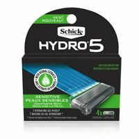 Schick Hydro Sense Sensitive Mens Razor Blade Refill With Sensitive Gel, Include