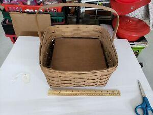 Vintage Longaberger Pie Basket