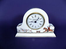 Wedgwood Hunting Scene Mantel Clock