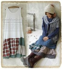 Petticoat tunika lagenlook patchwork karo vintage retro kawaii gyaru shabby chic